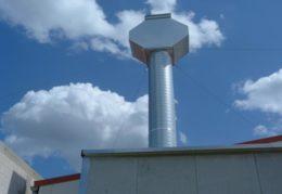 Rohrleitung, Lüftungskanäle, für Lackieranlagen und Lackierkabinen, sowie Lackierräume