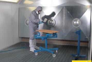 Neu Spritzdrehtisch ATEX für Lackierkabine und Lackieranlage Farbnebelabsaugwand