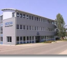 firmensitz der Herstellerfirma GESCHA Lackieranlagen Lackierkabinen in Nagold-Deutschland