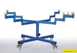 pmobile rotary paint table - mobiler spritztisch - Lackierdrehtisch - Spritzdrehtisch
